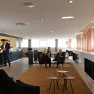 General view of the First Class Section of the Star Alliance Lounge
