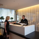 Star Alliance lounge in LAX – Front Desk