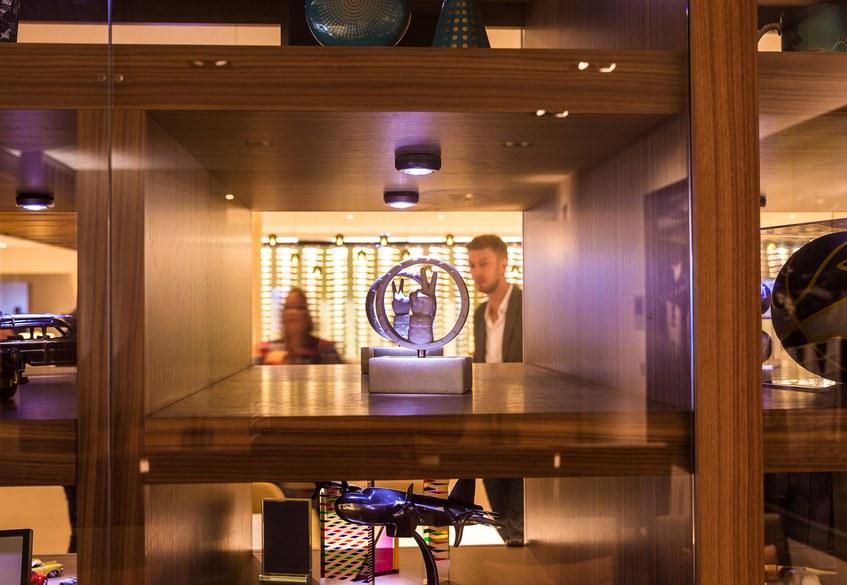 Star Alliance LAX lounge – interior