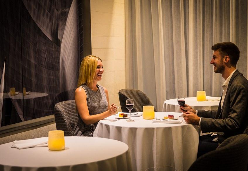 Star Alliance LAX lounge – First Class restaurant area