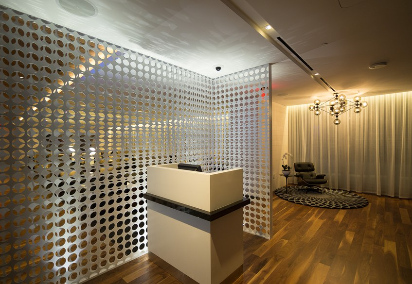 Star Alliance LAX lounge – First Class entrance