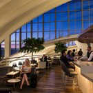 Star Alliance lounge in LAX - Overview internal shot public