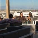 Star Alliance lounge in LAX – Roof terrace public