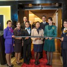 The Star Alliance lounge opening, LAX public