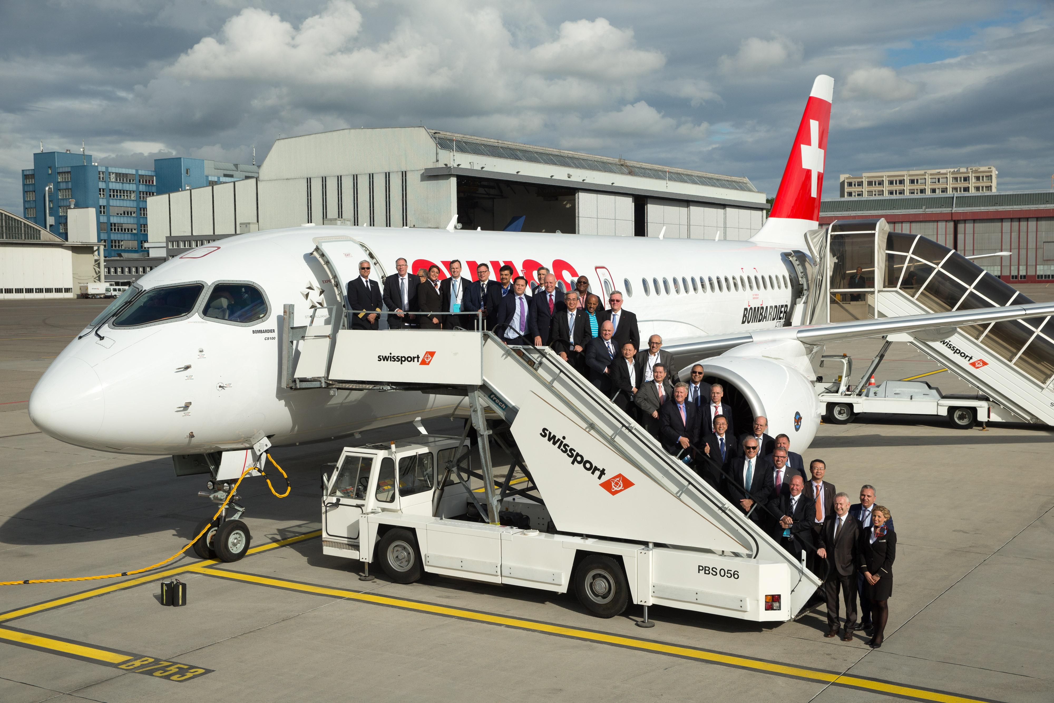 Star Alliance CEOs arrive in Zurich