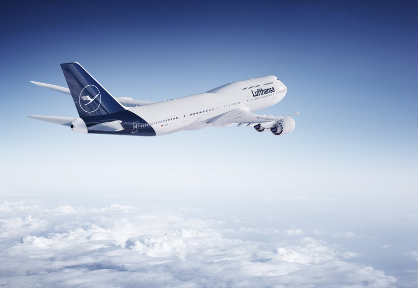 LH: first 747 with new livery