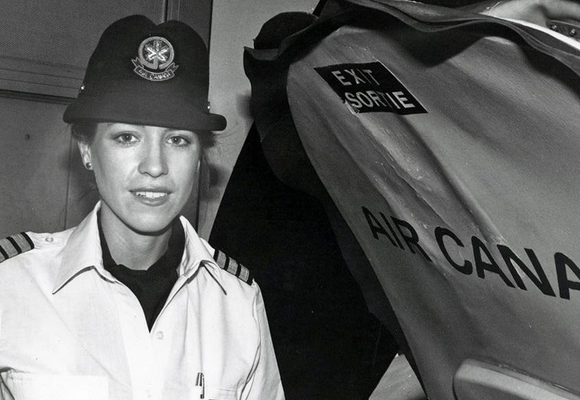 AC first woman pilot