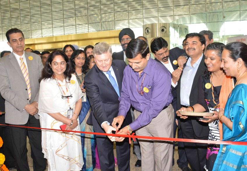 Ribbon Cutting Air India Moving Domestic Operations Into T2 Mumbai
