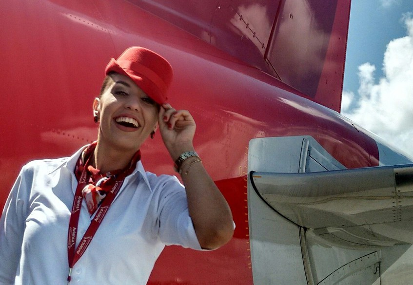 Avianca Flight Attendant