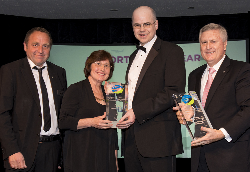 HEATHROW TERMINAL 2 │ THE QUEEN'S TERMINAL NAMED AIRPORT OF THE YEAR AT AIR TRANSPORT WORLD ANNUAL AWARDS