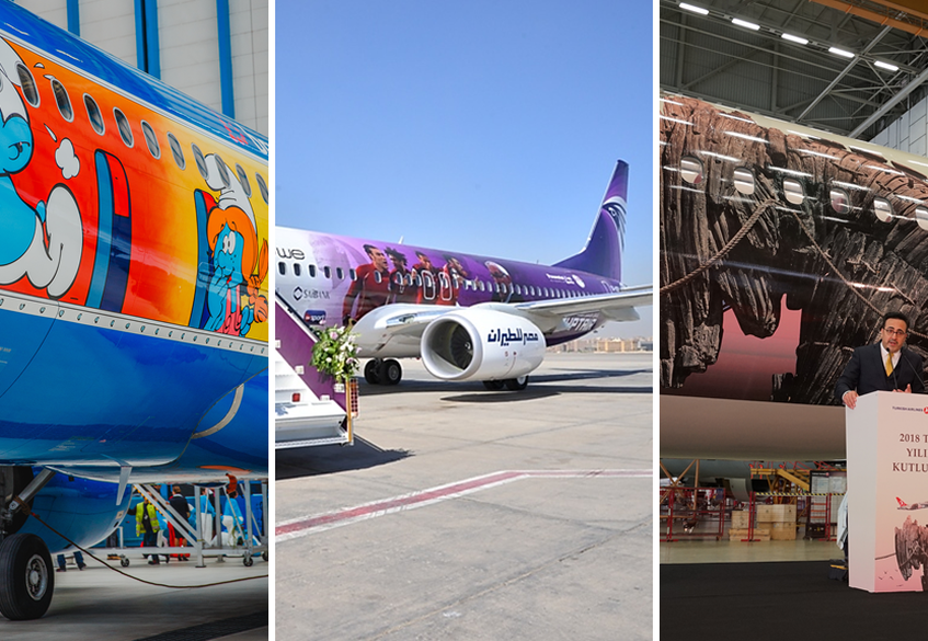 SN, MS, TK: special liveries