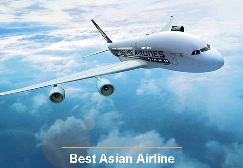 """Singapore Airlines awarded """"Best Asian Airline"""""""