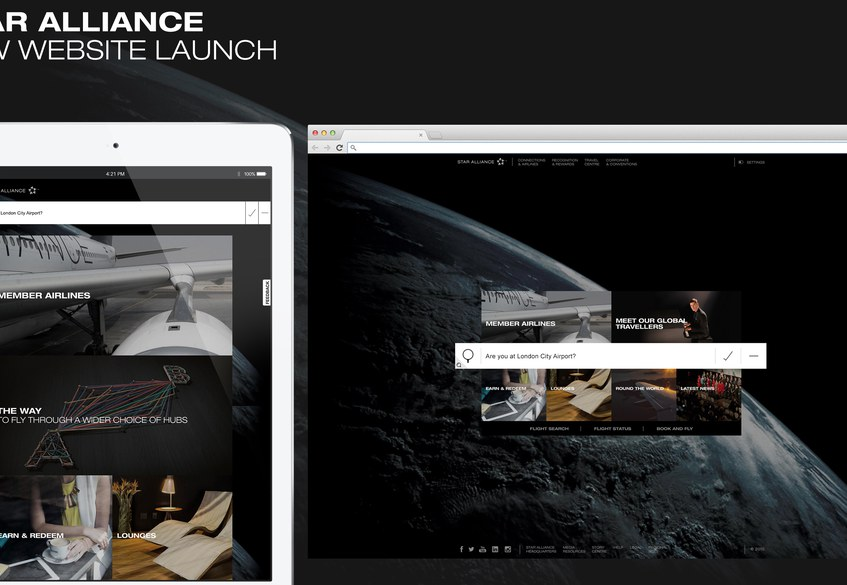 Star Alliance New Website launch