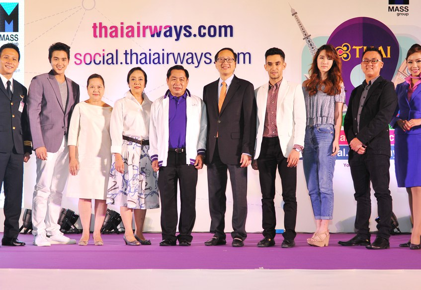 THAI launches social.thaiairways.com