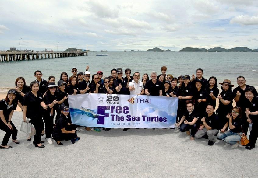 TG110-Star Alliance Member Carriers in Thailand Free Sea Turtles, Celebr....jpg